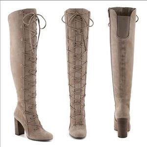 Vince Camuto Thanta Over the Knee Lace Boot 11 NWT